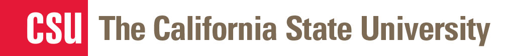 The California State University Wordmark