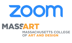 Zoom and MassArt Logo