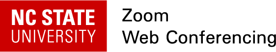 Zoom Web Conferencing at NC State
