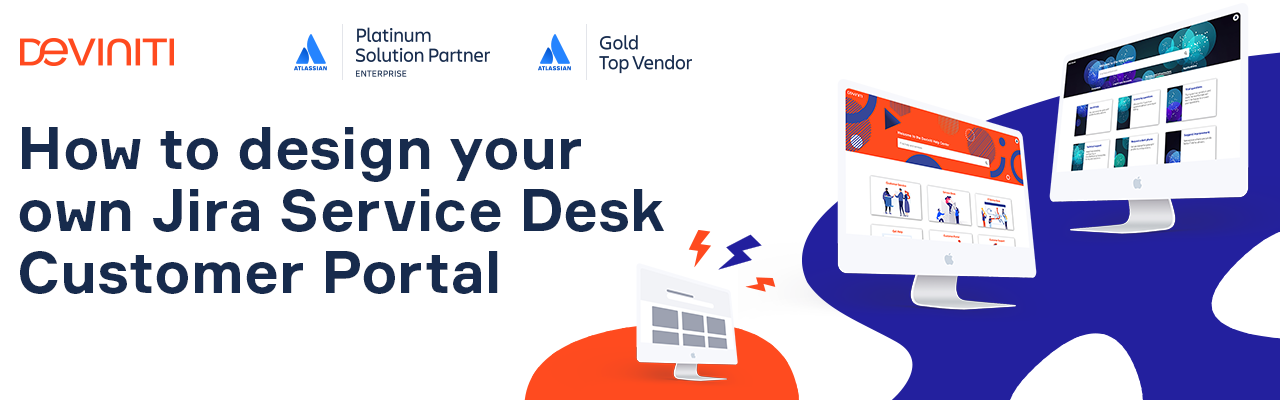 How to create your own Jira Service Desk Customer Portal - banner image