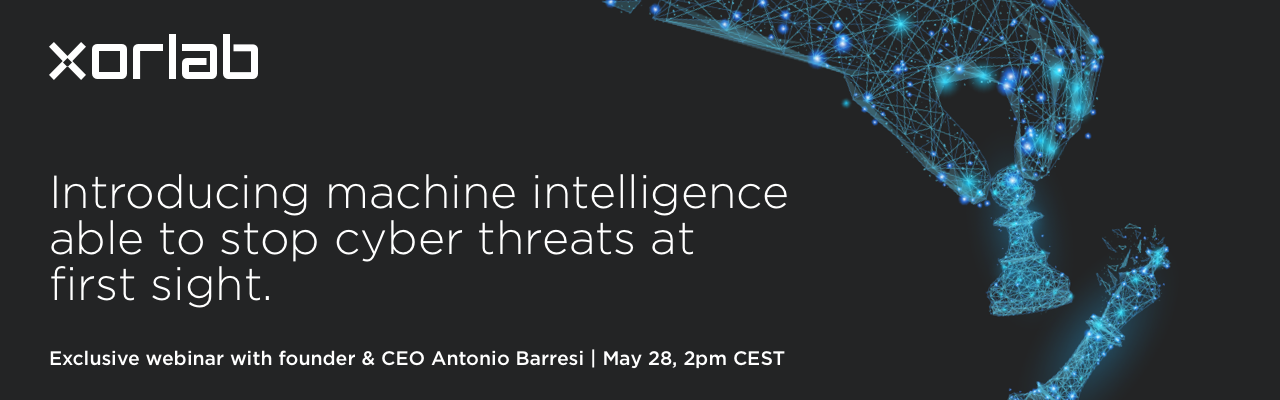 Exclusive webinar with founder & CEO Antonio Barresi | May 28, 2pm CEST