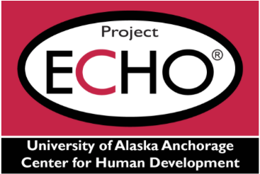Logo: Project ECHO University of Alaska Anchorage Center for Human Development
