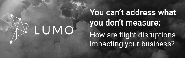 Lumo Webinar - You can't address what you don't measure: How are flight disruptions impacting your business?