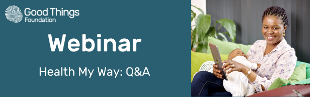 Webinar - Health My Way: Q&A banner image