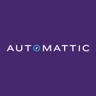 Automattic logo on purple background