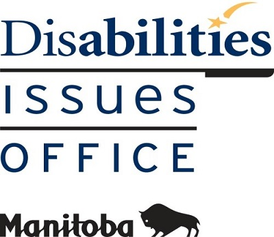 Disabilities Issues Office logo with Manitoba government bison