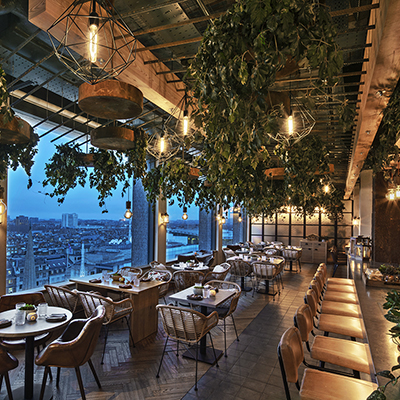 Treehouse Hotel London. Image by Eric Laignel.