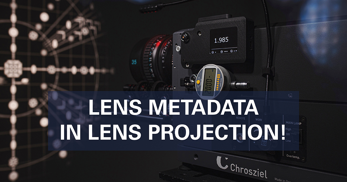 Lens Metadata in Lens Projection