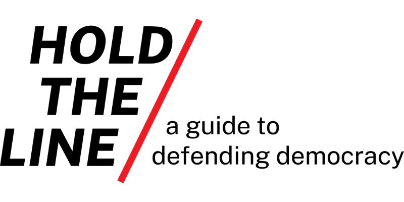 Hold the Line Logo