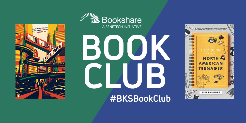 Bookshare Book Club June Picks - book covers
