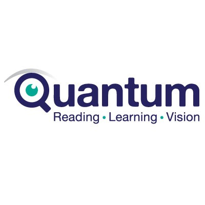Quantum Reading Learning Vision Logo