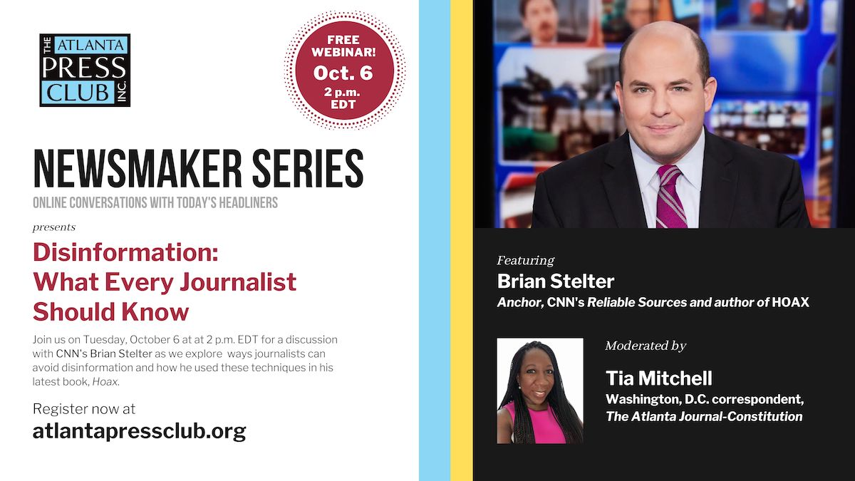 Join us on Tuesday, October 6 at at 2 p.m. EDT for a discussion with CNN