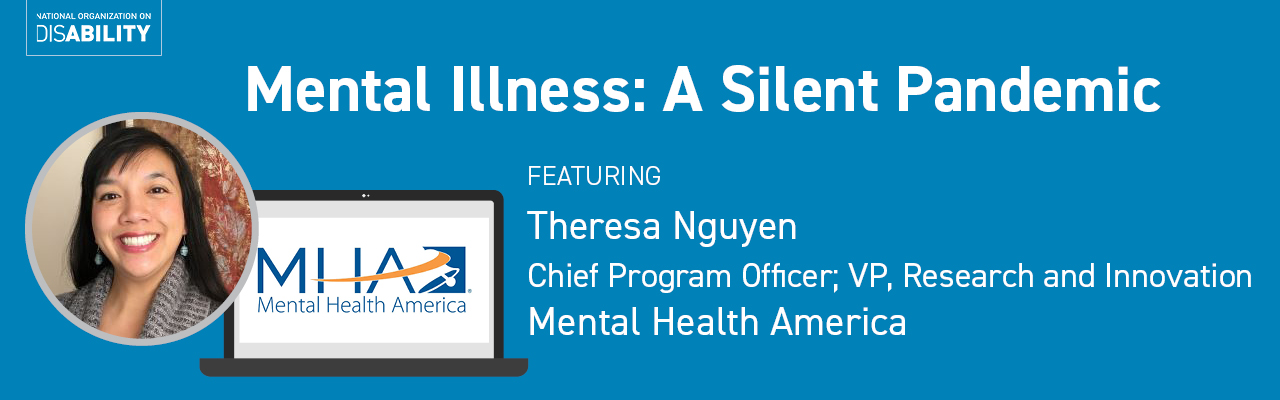 Mental Illness Featuring Theresa Nguyen, Mental Health America