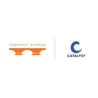 Catalyst and Community Business logo lockup