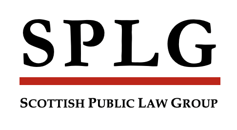SPLG logo Scottish Pulbic Law Group